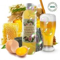 Хна, пиво, желток и мед: органический шампунь для жирных волос