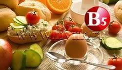 Витамин В5 в продуктах питания